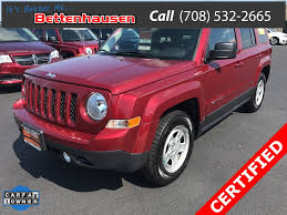 2017 jeep patriot certified pre owned 2017 jeep patriot sport 4d sport utility in