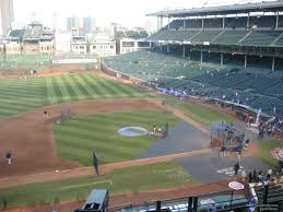 Wrigley Field Bathroom Wrigley Field Section 413 Chicago Cubs Rateyourseats Com