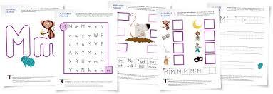 letter m worksheets kindergarten worksheets