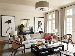 cozy living room warm beige and paint color calico cream