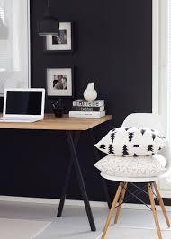 si es bureau crea un contraste de colores para tu espacio de trabajo si tu pared