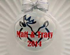 our 1st married gift snow ceramic ornament