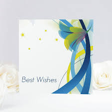 floral best wishes card by munchkin creative notonthehighstreet com