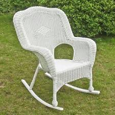 wicker rocker home u0026 garden ebay