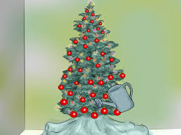 Upside Down Christmas Tree by How To Set Up A Christmas Tree 13 Steps With Pictures Wikihow