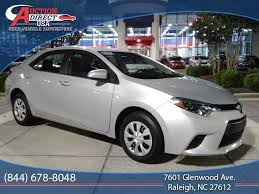 used toyota corolla at auction direct usa