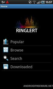 free ringtone for android ringlert free ringtones free android app android freeware