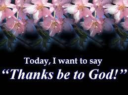 thanks to god spirituality babamail