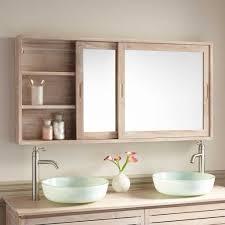 cabinet mirror bathroom bathroom 55 wulan teak medicine cabinet medicine cabinets