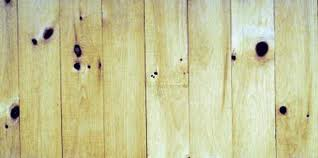 repairing water stains on knotty pine wood ceiling