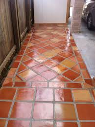 Spanish For Floor Rustic Terra Cotta Tile Flooring With A High Gloss Finish Spanish