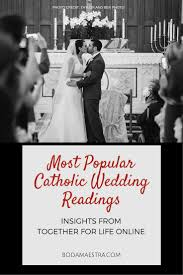 best 20 catholic wedding readings ideas on pinterest wedding