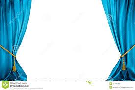 Blue Curtains Blue Curtains Background Stock Illustration Image 47394748