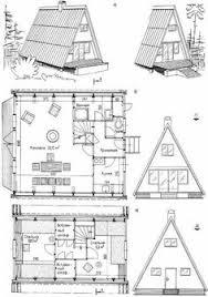 a frame house floor plans free a frame cabin plans blueprints construction documents sds