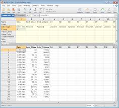 Time Study Spreadsheet Time Series And Forecasting Ncss Statistical Software Ncss Com