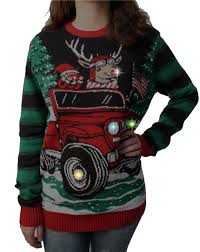 jeep christmas shirt ugly christmas sweater plus size women u0027s how we roll reindeer in