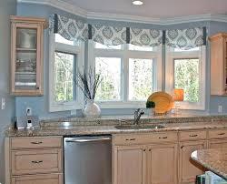 kitchen bay window treatment ideas kitchen bay window curtain ideas kitchen bay window kitchen bay