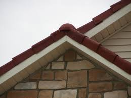 Barrel Tile Roof Roof Tile Edging Flat Roof Pictures