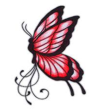 red and black butterfly tattoo image result for black rose and