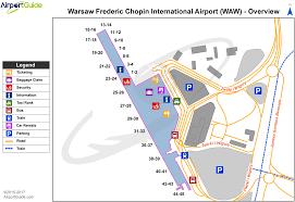 Airport Terminal Floor Plan by Warsaw Warsaw Chopin Waw Airport Terminal Maps Travelwidget Com