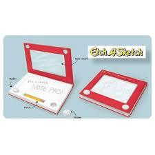 etch a sketch notebook paladone products etch a sketch