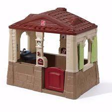Backyard Play House Outdoor Playhouse Ebay