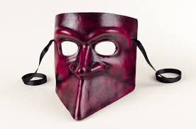 black bauta mask venetian bauta and black
