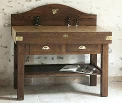 billot de cuisine meuble billot de cuisine en bois debout
