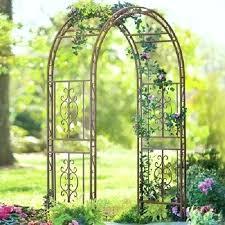 wedding arch kmart garden arch with gate perth garden metal arch arbor 84 pathway