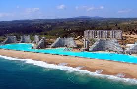 Biggest Backyard Pool by Wonderful Biggest Pool Design Inspirations With Beautiful Beach
