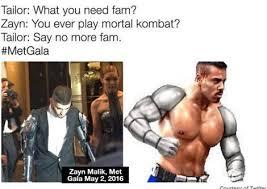 Zayn Malik Memes - metgala zayn malik kim kardashian more mocked with memes