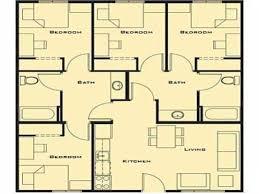 4 bedroom house floor plans cool best floor plan for 4 bedroom house ideas best inspiration