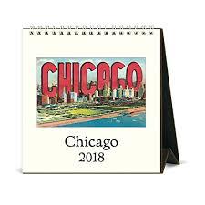 cavallini calendars cavallini papers chicago 2018 desk calendar 50