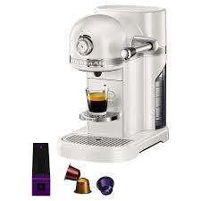 nespresso coffee buy nespresso artisan coffee machine by kitchenaid john lewis