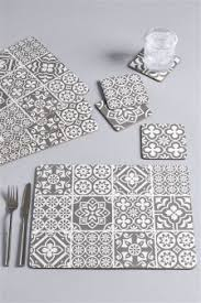 table mats and coasters placemats table mats grey silver placemats next uk