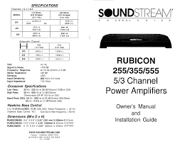 70 soundstream human reign amp manual owner u0027s manual