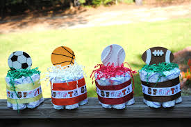 sports themed baby shower centerpieces baby shower diy