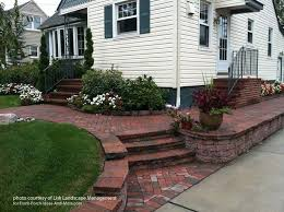 Elevated Front Yard Landscaping - front yard landscape designs with before and after pictures