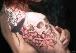 80 tremendous flower tattoos on shoulder