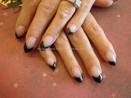 black tip nails with design choice image nail art designs