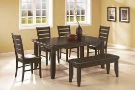 6 pc dinette kitchen dining room set table w 4 wood chair quality sofas mattresses furniture warehouse direct chula