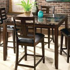 high end dining room furniture brands kitchen table bar top tables industrial wood high with and chairs