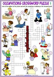 english worksheet occupations discover and have fun