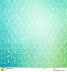 Blue Pattern Background Blue Green Hexagon Pattern Background With White Outline Stock