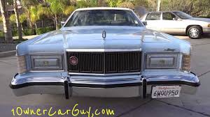 1978 mercury grand marquis video 1 owner 6 6l 400 v8 classic