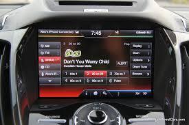 Ford Escape Interior - 2013 ford escape titanium interior dashboard picture courtesy