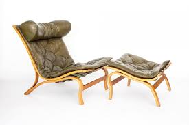 furniture chair with ottoman beautiful vintage skandi lounge
