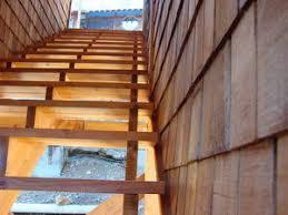 lighting covered stairs outdoor stairway lighting