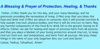 simple prayer for health repair protection and thanks