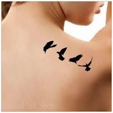 Bird Flying Tatoo Temporary Birds Flying Ultra Thin
